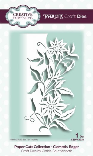 Paper Cuts Collection - Clematis Edger Craft Die